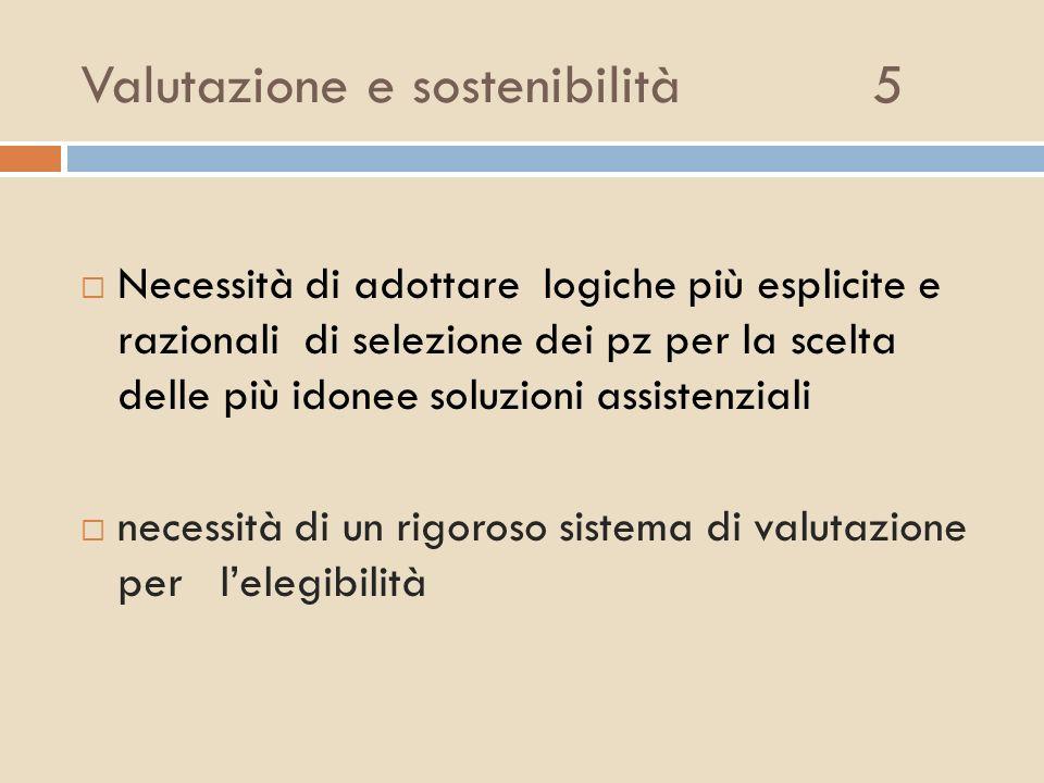 Valutazione e sostenibilità 5
