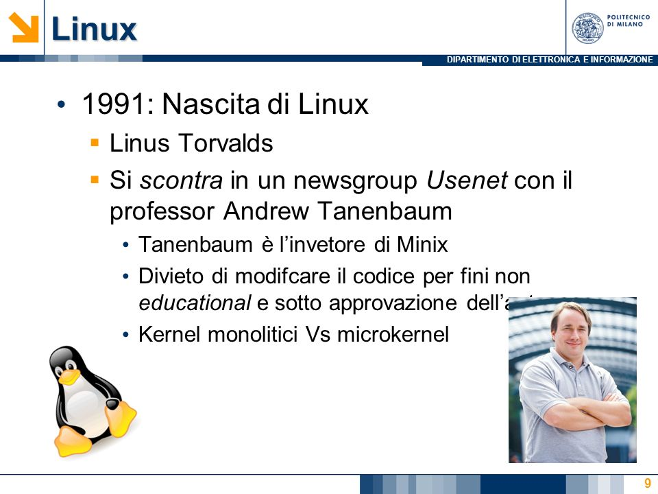 Linux 1991: Nascita di Linux Linus Torvalds