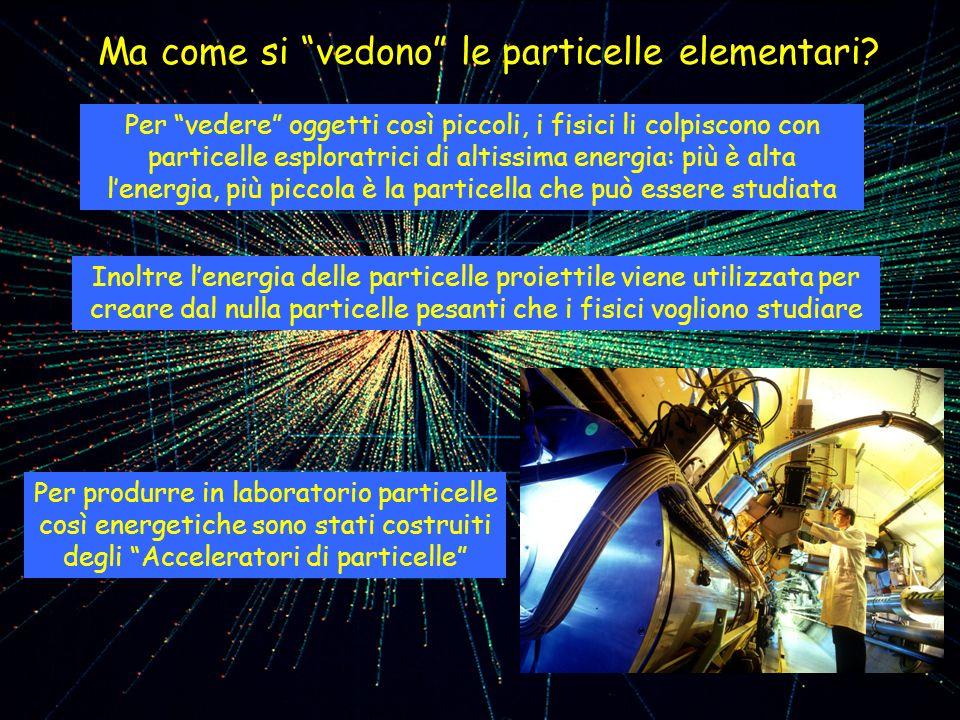 Ma come si vedono le particelle elementari