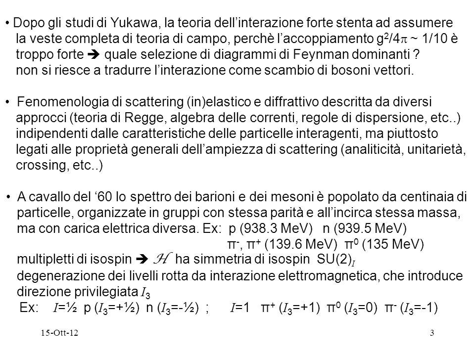 troppo forte  quale selezione di diagrammi di Feynman dominanti