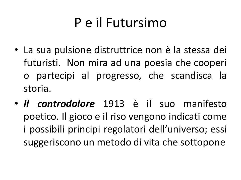 P e il Futursimo