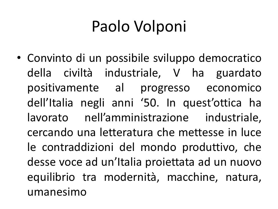 Paolo Volponi
