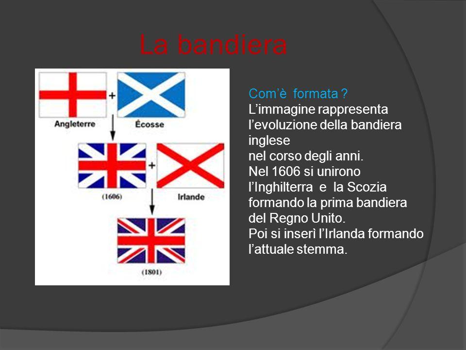 La bandiera Com'è formata