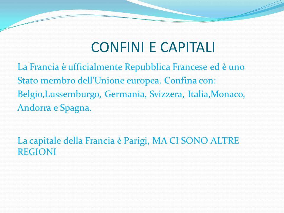 CONFINI E CAPITALI
