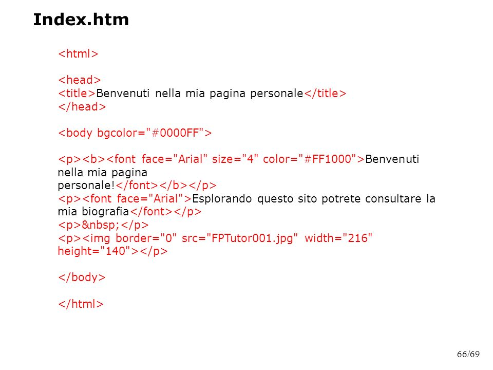 Index.htm <html> <head>