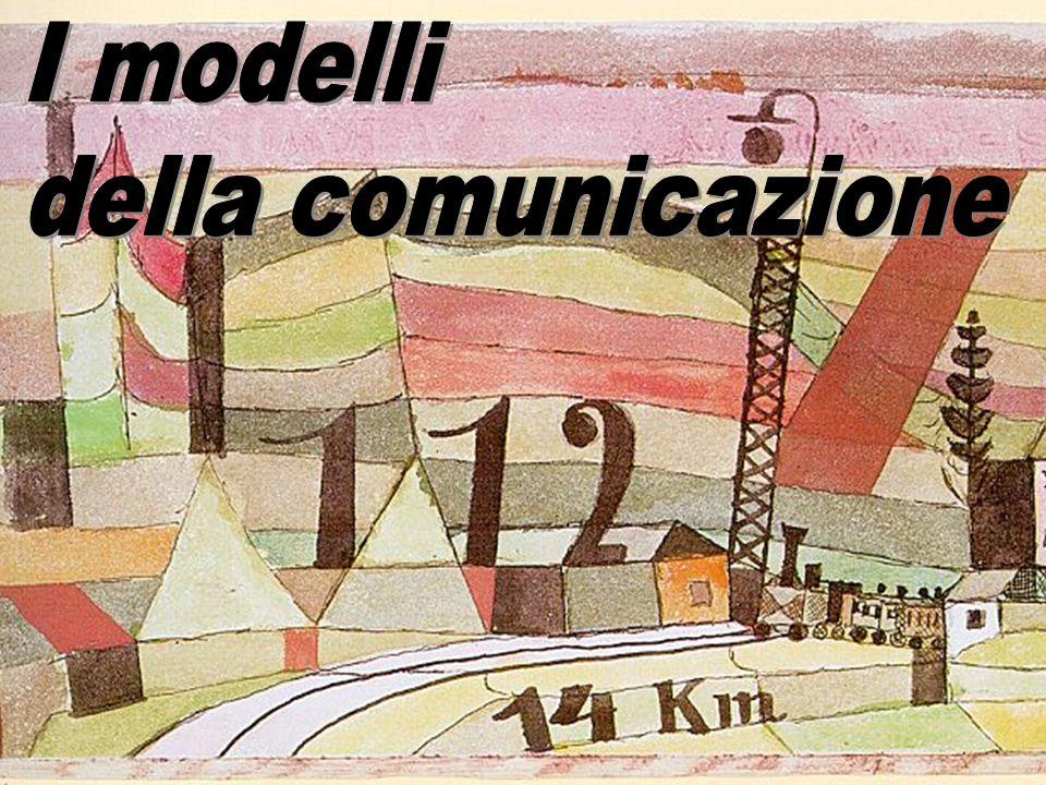 I modelli della comunicazione
