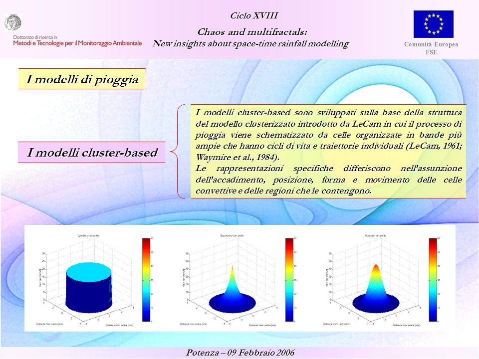 I modelli cluster-based