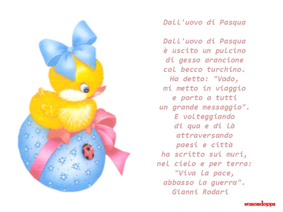 Dall uovo di Pasqua