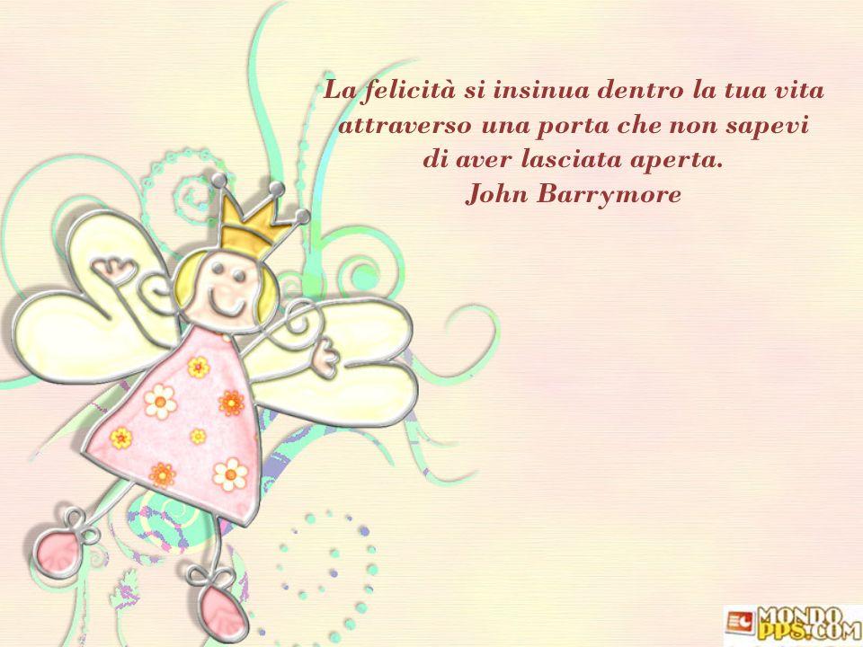 di aver lasciata aperta. John Barrymore
