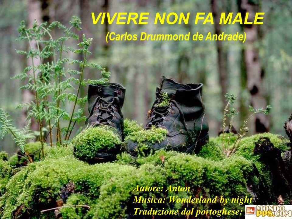 VIVERE NON FA MALE (Carlos Drummond de Andrade)