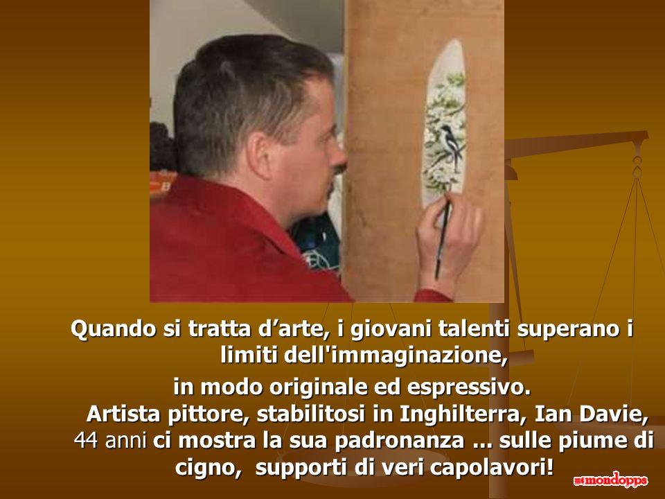 Quando si tratta d'arte, i giovani talenti superano i limiti dell immaginazione,