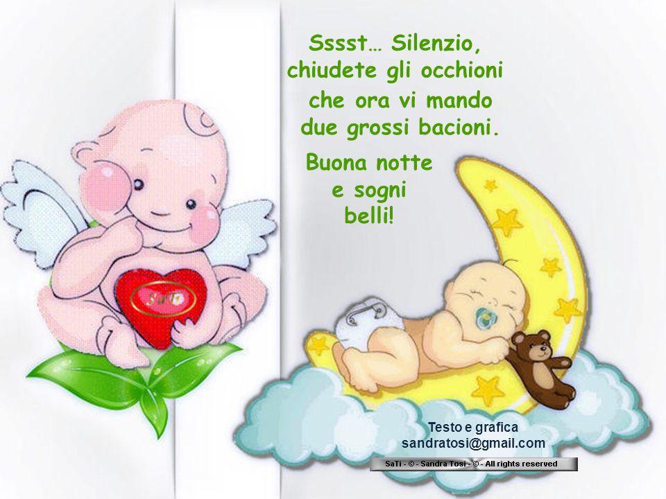 Buona notte e sogni belli!