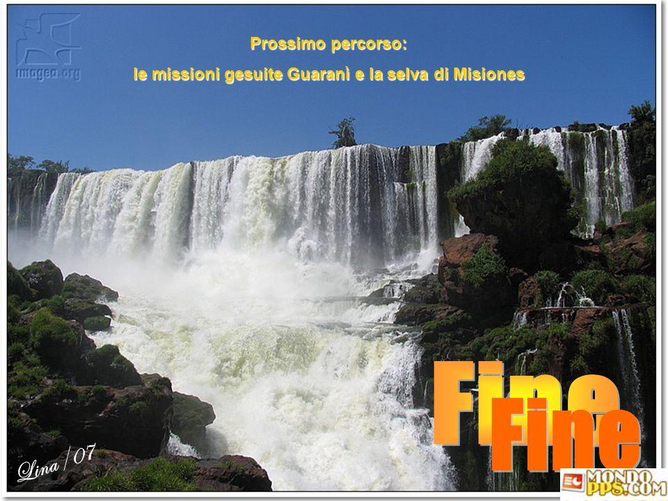 le missioni gesuite Guaranì e la selva di Misiones