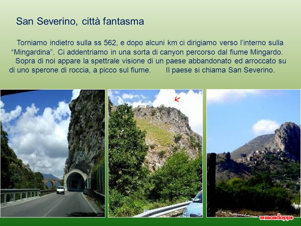San Severino, città fantasma