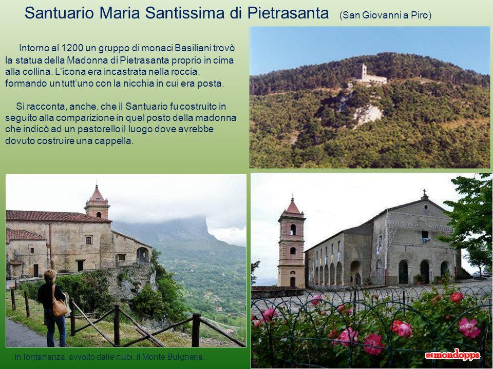 Santuario Maria Santissima di Pietrasanta (San Giovanni a Piro)
