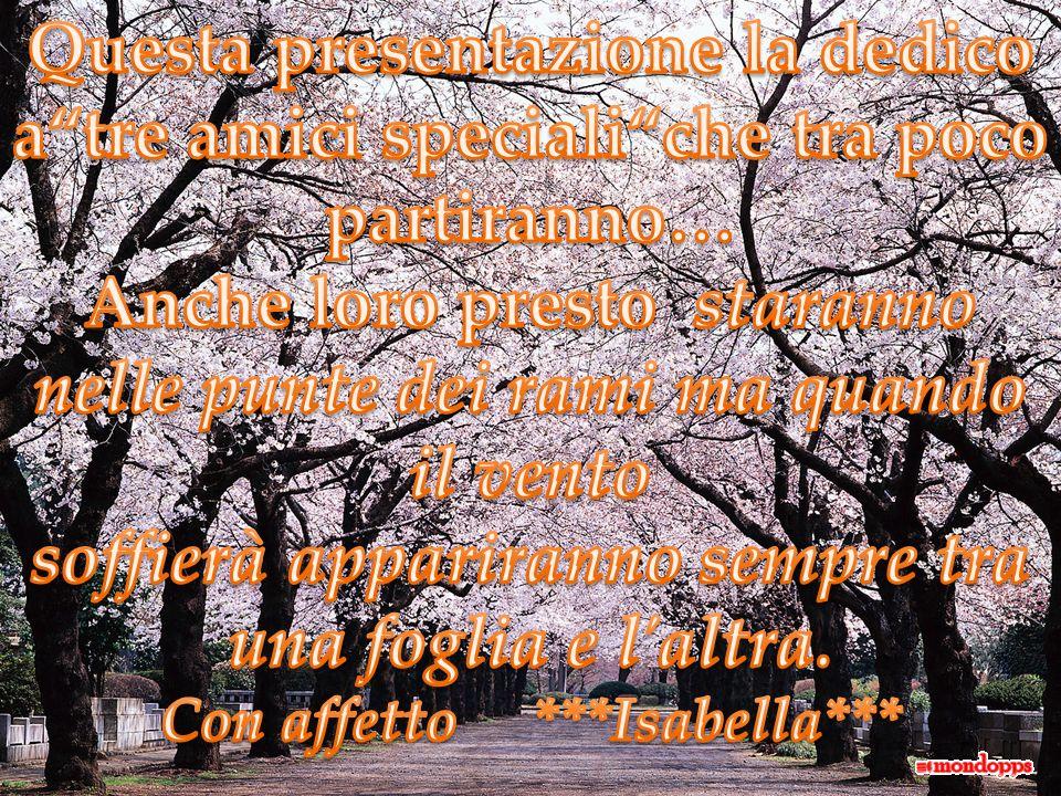 Con affetto ***Isabella***