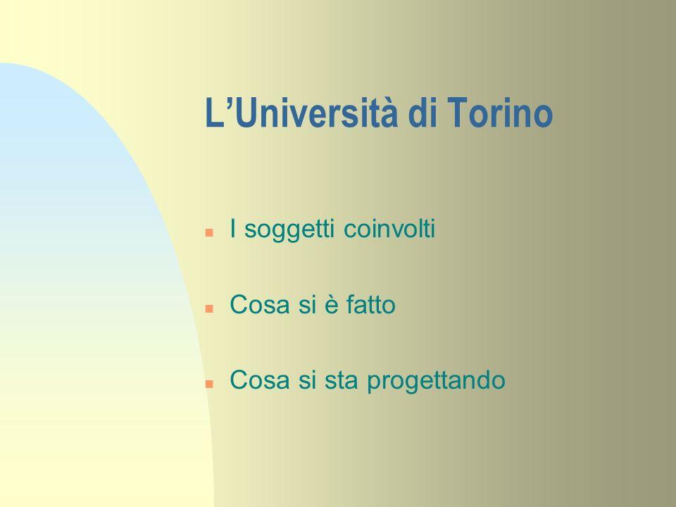 L'Università di Torino