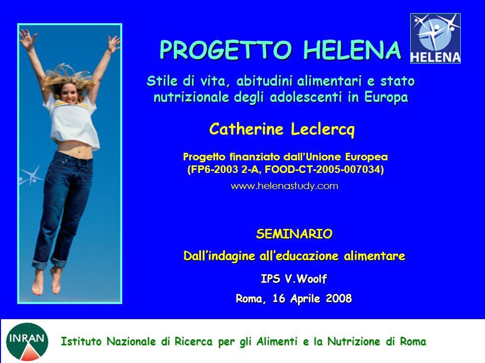 PROGETTO HELENA Catherine Leclercq
