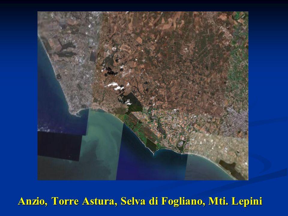 Anzio, Torre Astura, Selva di Fogliano, Mti. Lepini