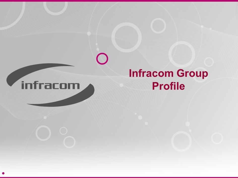 Infracom Group Profile
