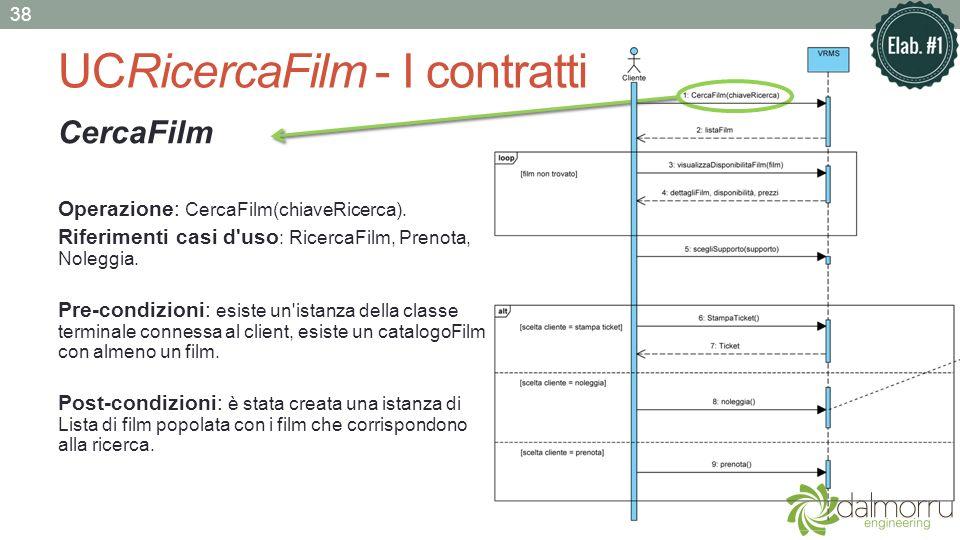 UCRicercaFilm - I contratti
