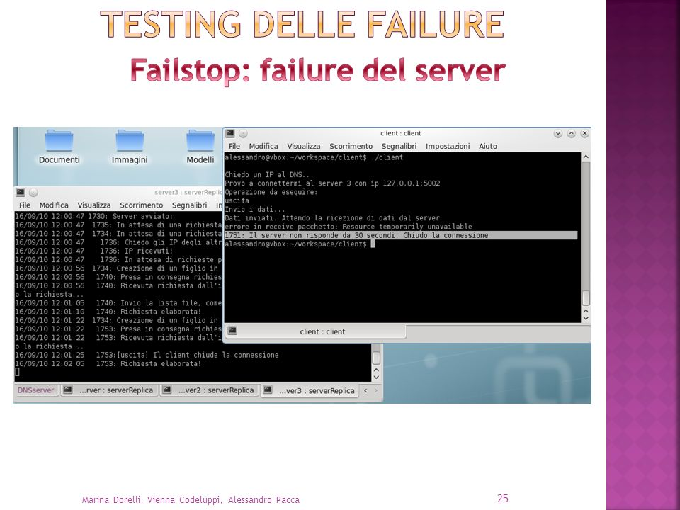 Failstop: failure del server