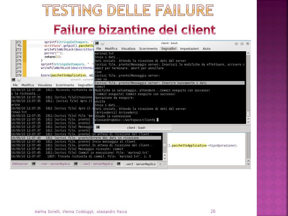 Failure bizantine del client