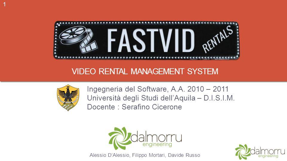 Video rental management system