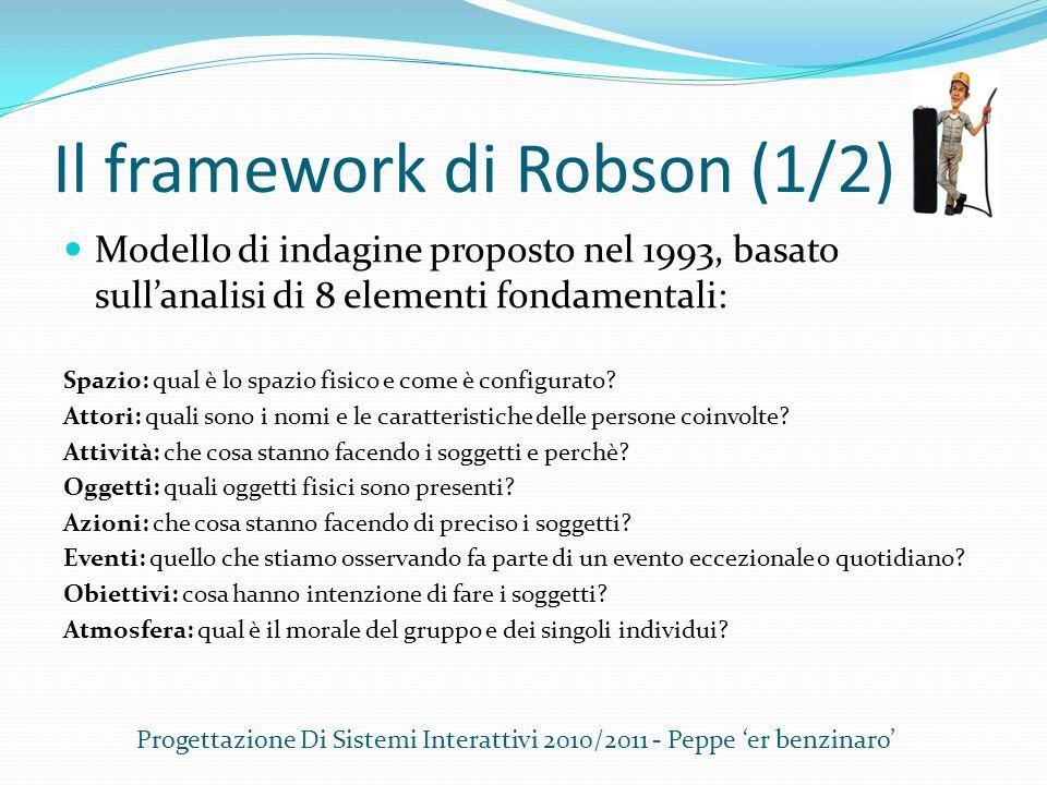 Il framework di Robson (1/2)