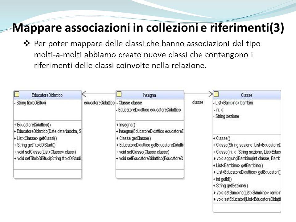 Mappare associazioni in collezioni e riferimenti(3)