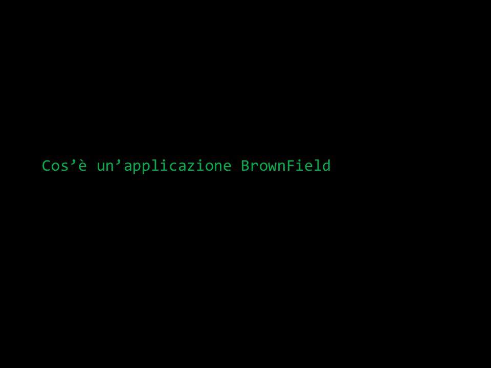 Definizione di BrownField