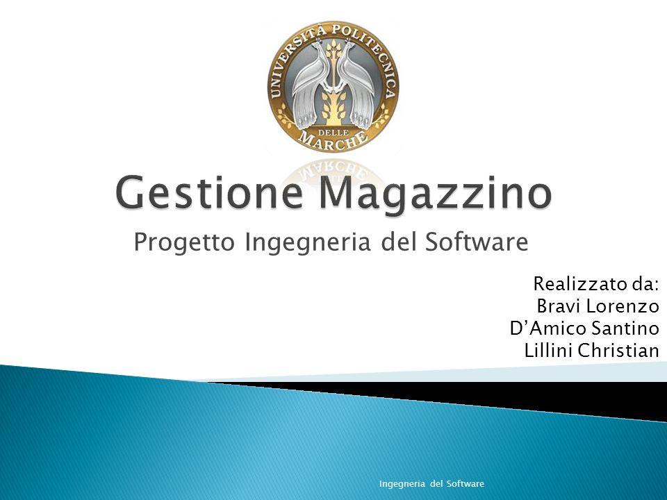 Progetto Ingegneria del Software