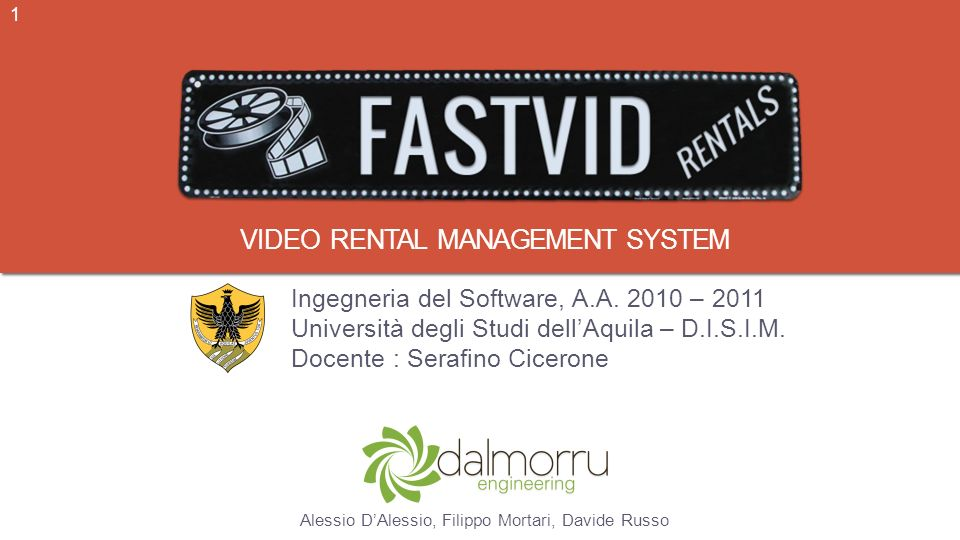 Video rental management system