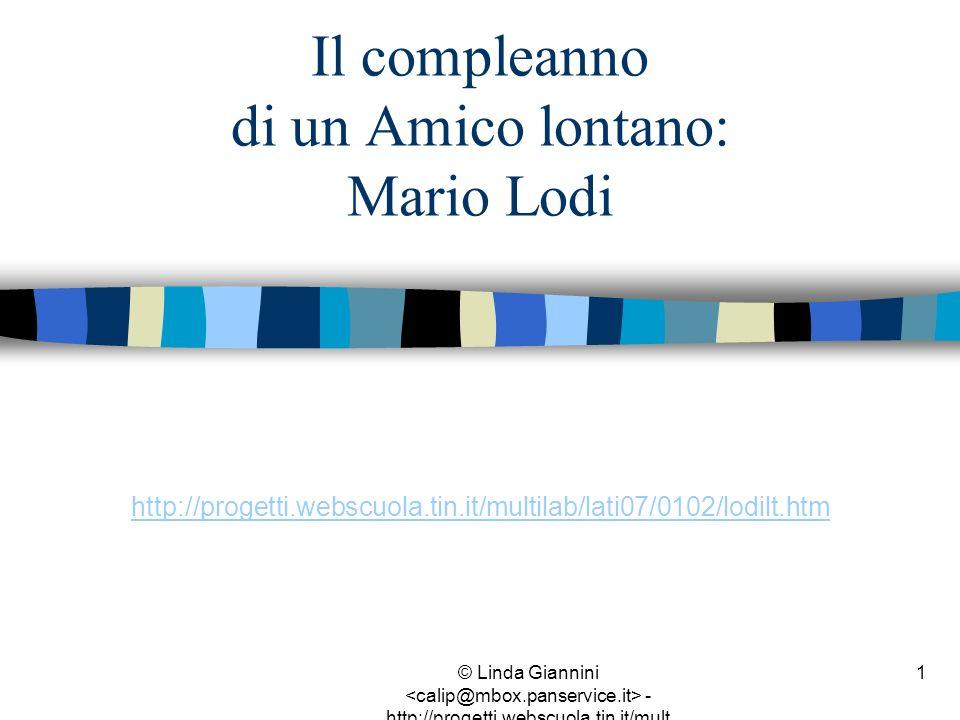 Il compleanno di un Amico lontano: Mario Lodi