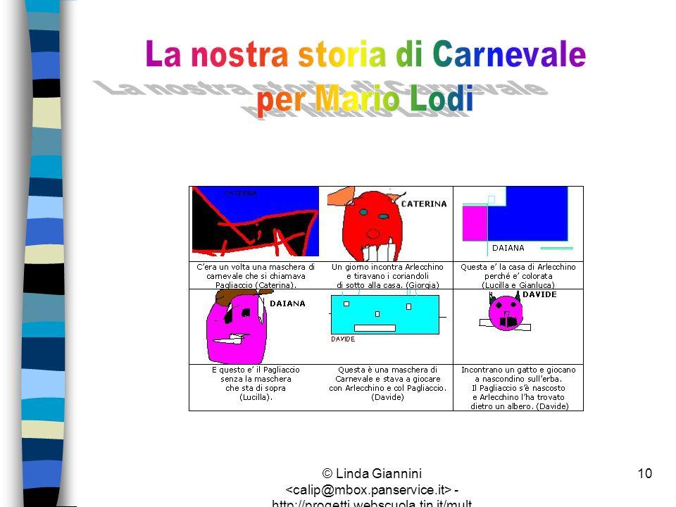 La nostra storia di Carnevale