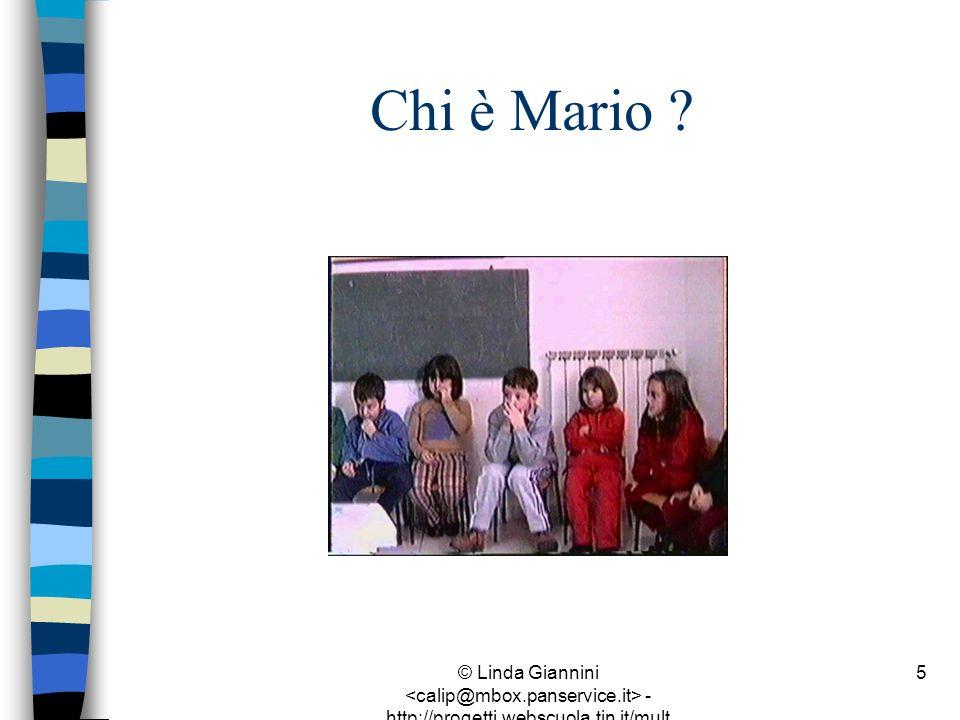Chi è Mario .