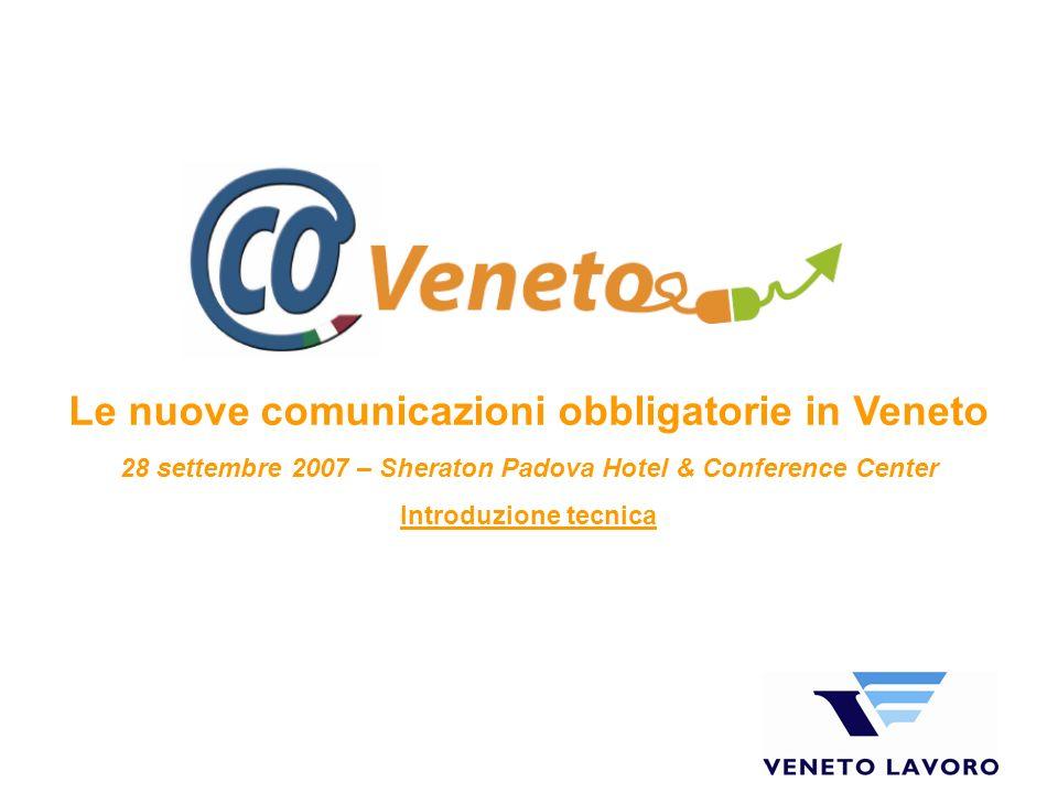 Le nuove comunicazioni obbligatorie in Veneto