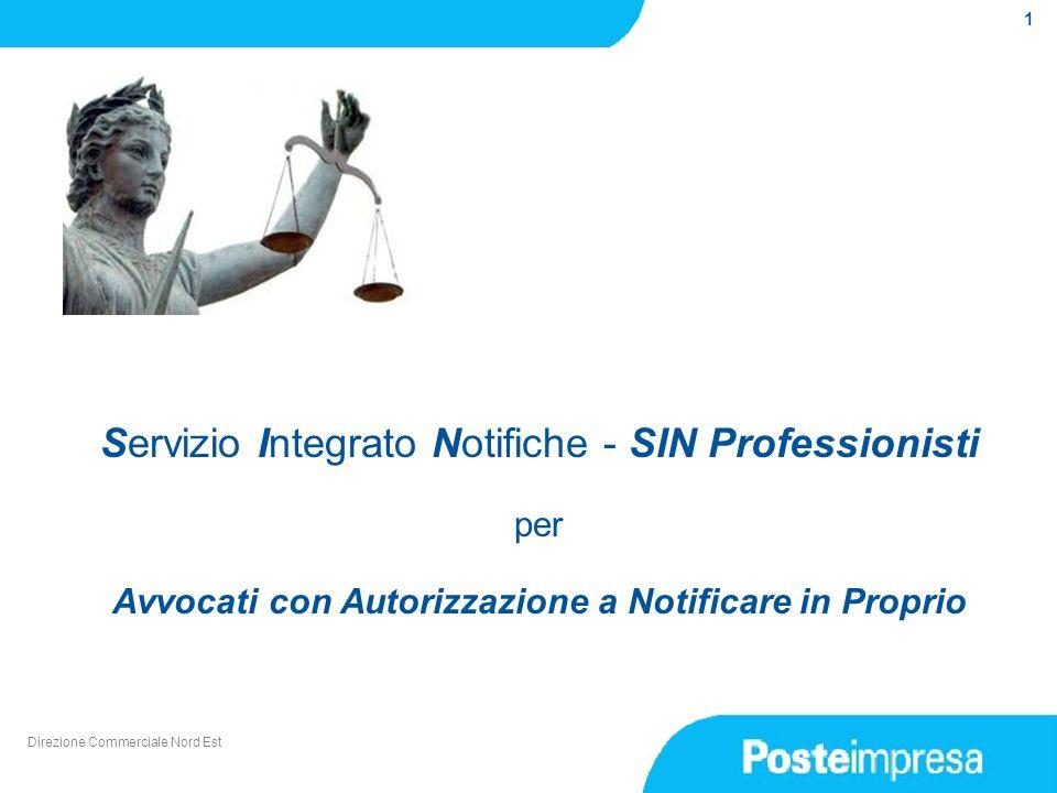 Servizio Integrato Notifiche - SIN Professionisti