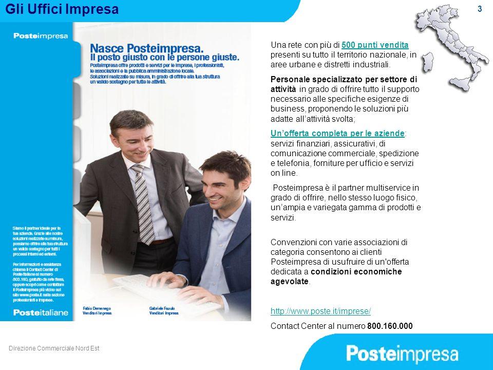 Gli Uffici Impresa 3. Una rete con più di 500 punti vendita presenti su tutto il territorio nazionale, in aree urbane e distretti industriali.