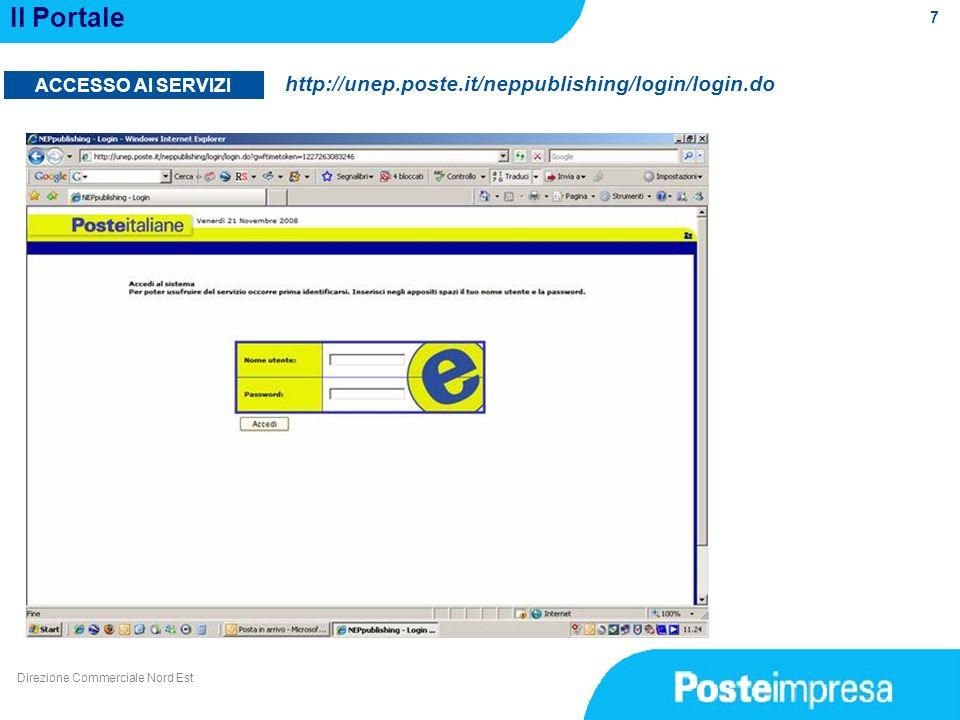 Il Portale http://unep.poste.it/neppublishing/login/login.do