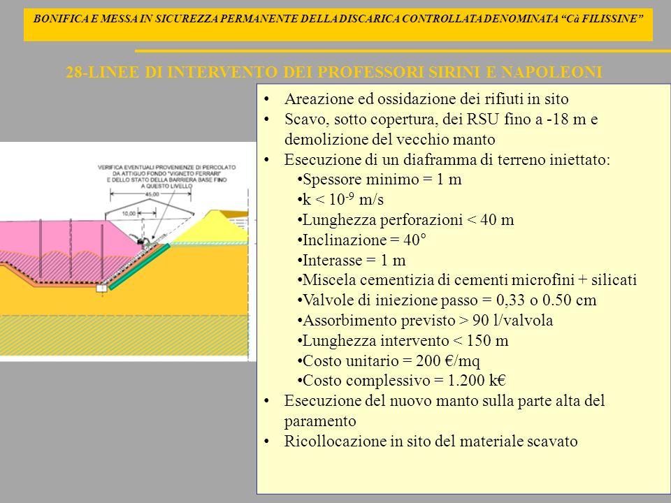 28-LINEE DI INTERVENTO DEI PROFESSORI SIRINI E NAPOLEONI