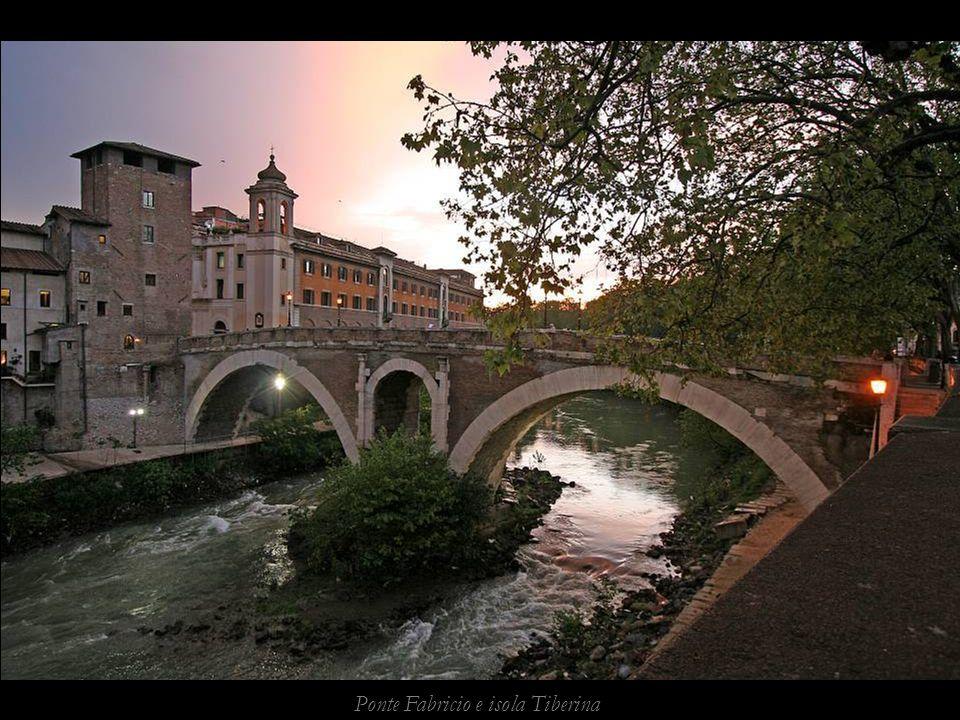 Ponte Fabricio e isola Tiberina