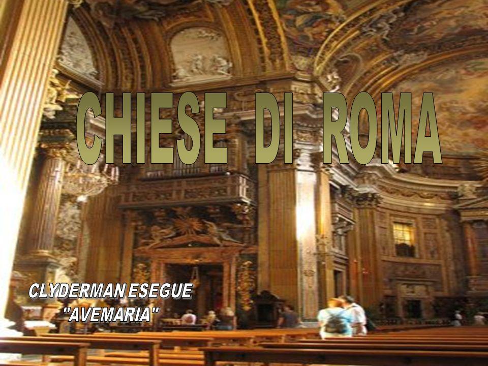 CHIESE DI ROMA CLYDERMAN ESEGUE AVEMARIA