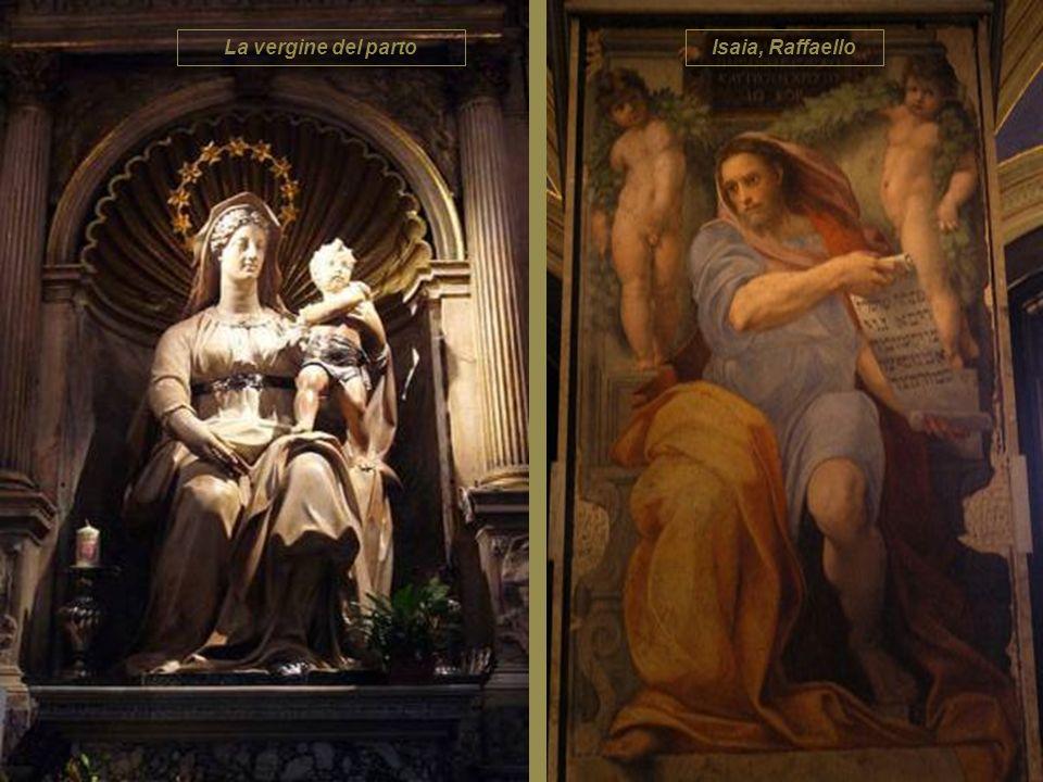 La vergine del parto Isaia, Raffaello