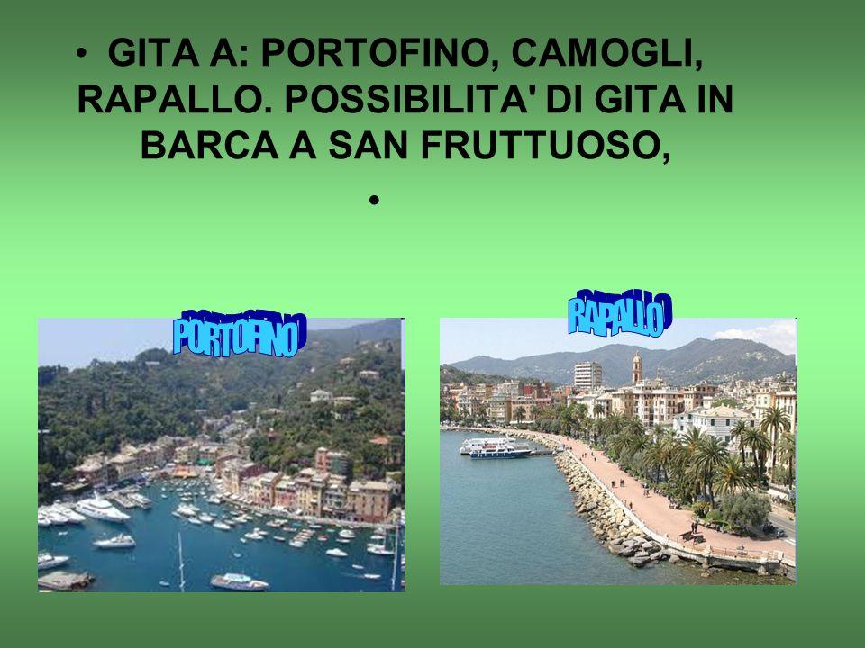 GITA A: PORTOFINO, CAMOGLI, RAPALLO