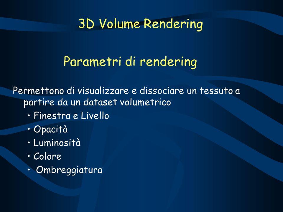 Parametri di rendering