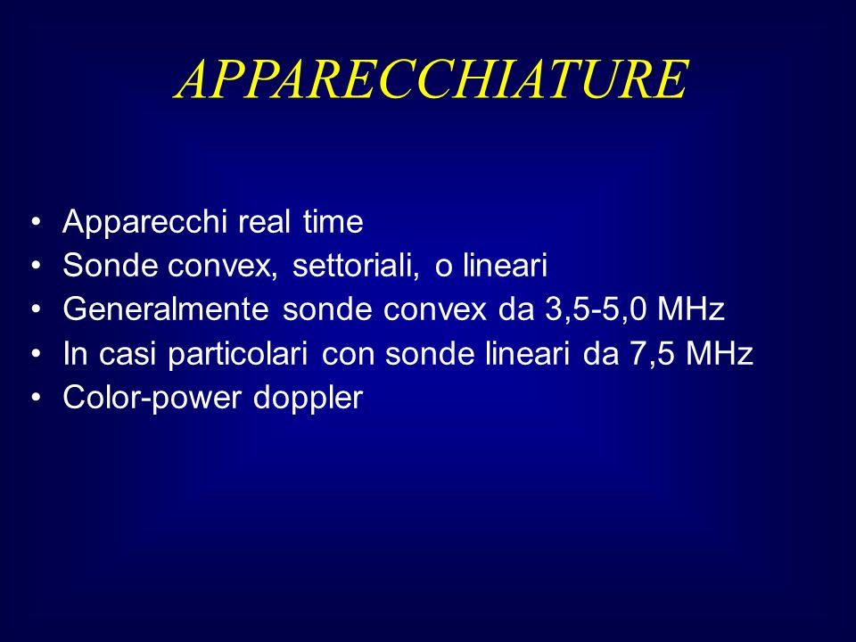 APPARECCHIATURE Apparecchi real time
