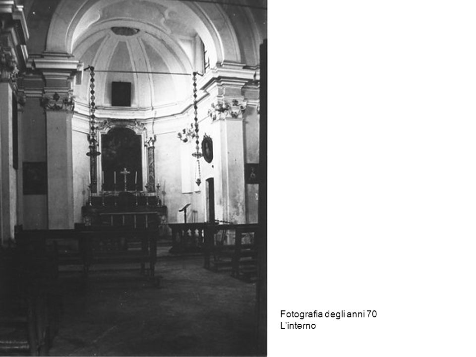 Fotografia degli anni 70 L'interno