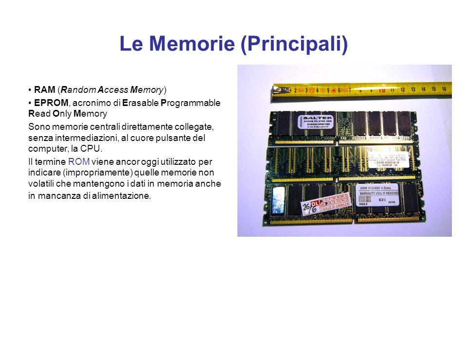 Le Memorie (Principali)