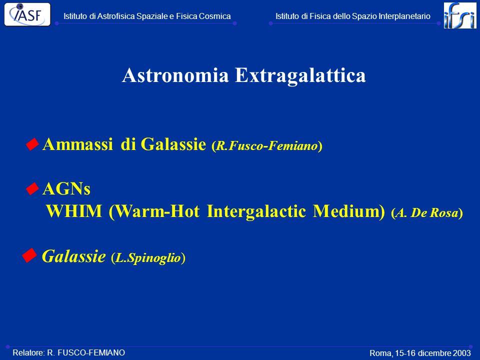 Astronomia Extragalattica